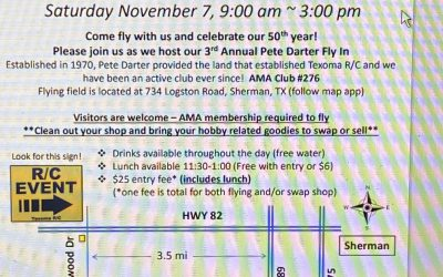 Pete Darter Fly In & Swap Meet