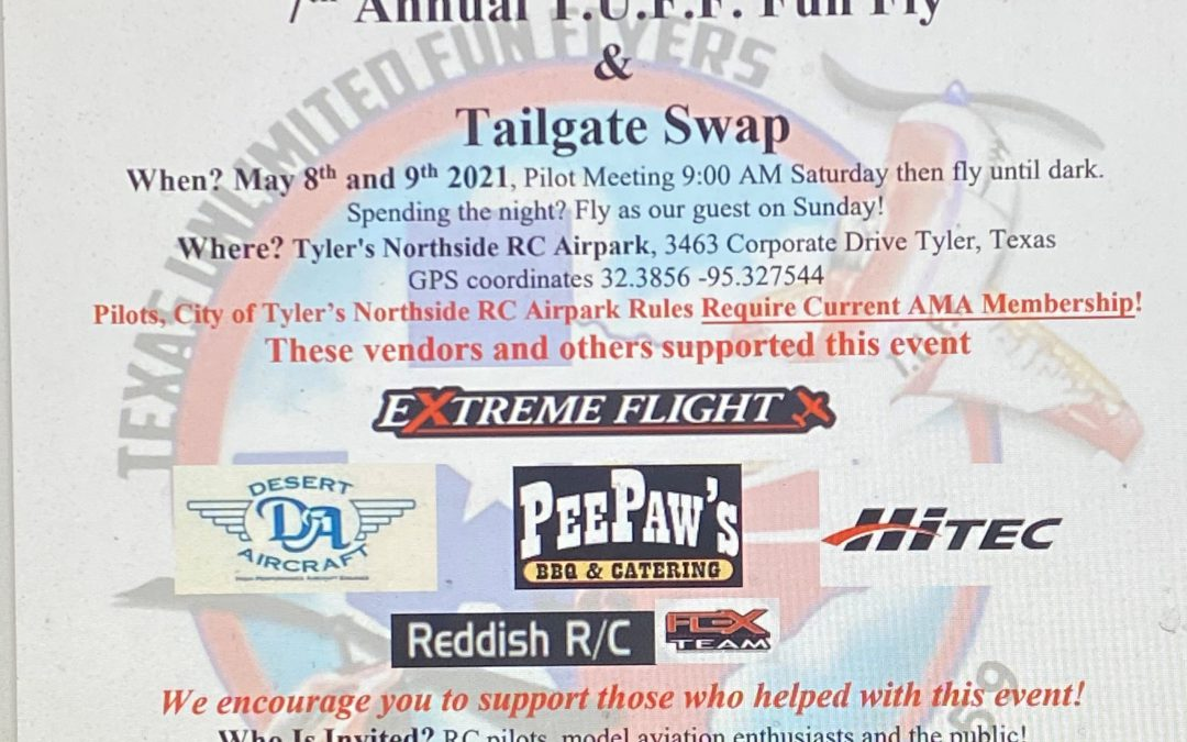 The Texas Unlimited Fun Flyers Fun Fly and Swap meet